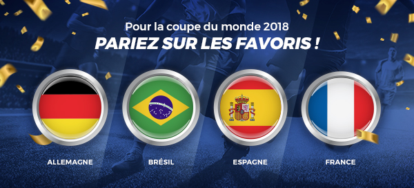 Coupe du Monde 2018 ParionsSport